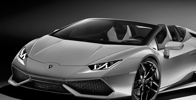 Hire a Lamborghini Today in Adlington